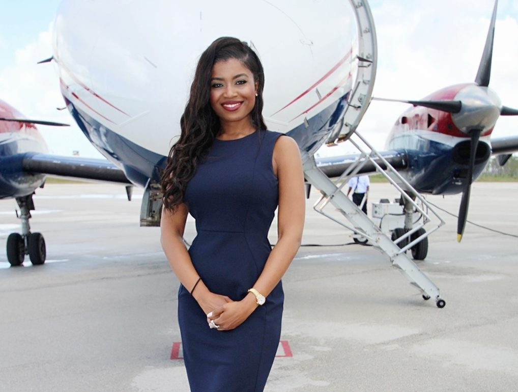 One of the largest black owned airlines is being run by a savvy 29 sherrexcia rexy rolle is the vice president of operations and general counsel for western air a bahamas based black owned malvernweather Choice Image