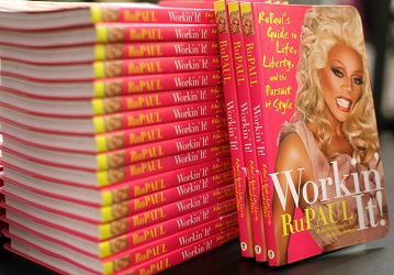 Ru Paul attends the signing of his book 'Workin' It'. (Photo by Angela Weiss/Getty Images)