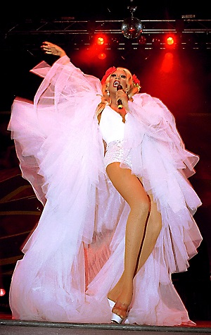 RuPaul Performs at the World Theater. (Photo by James Crump/WireImage)
