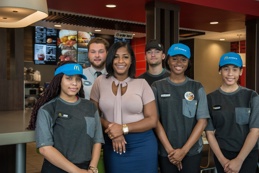 Meet The Youngest Black Woman To Own A McDonald S Franchise