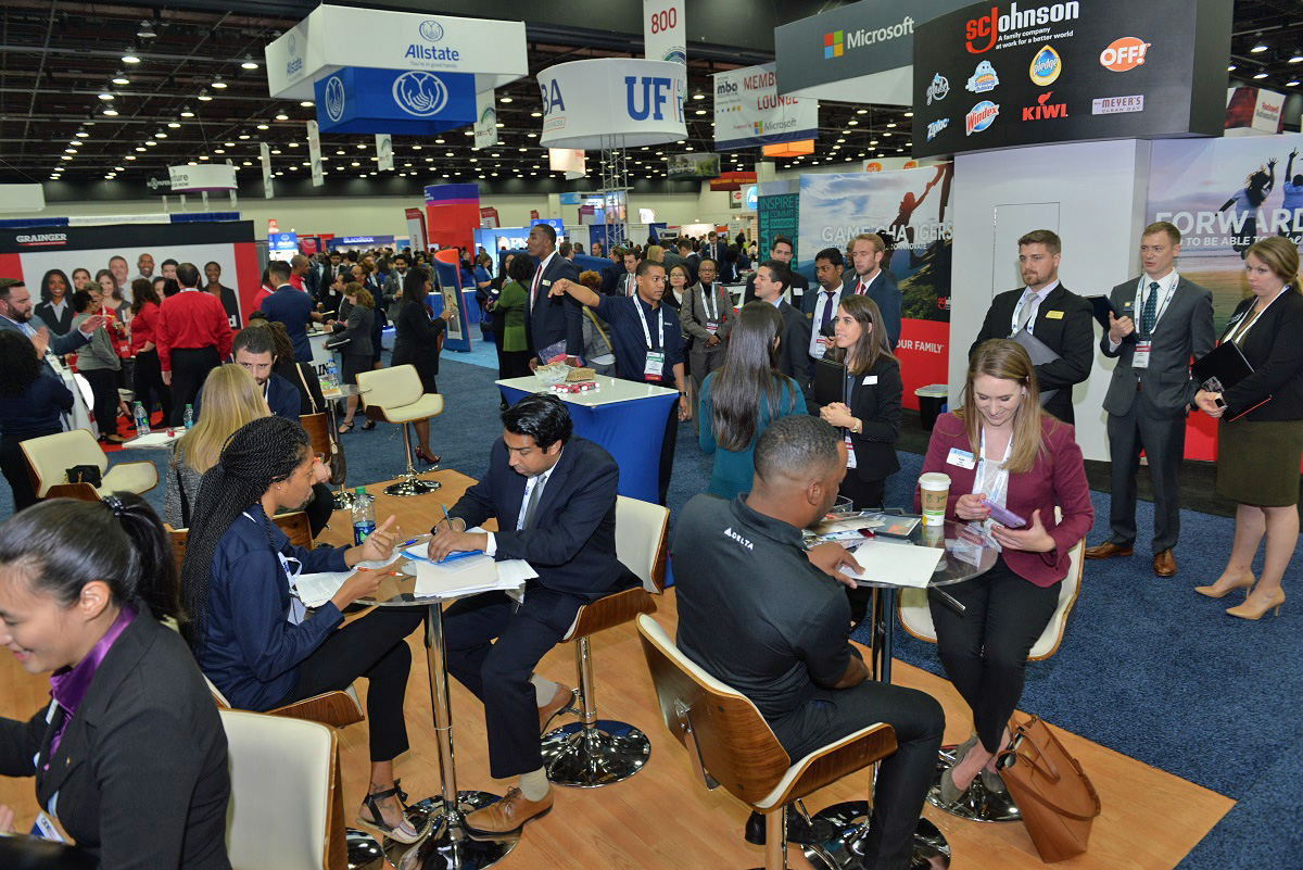 NBMBAA-Attendees and Exhibitors meet one-on-one