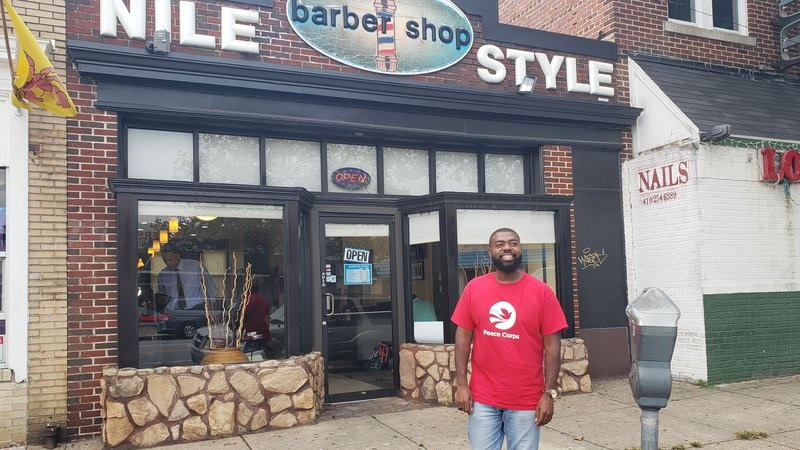 Peace Corps Barber Shop Tour