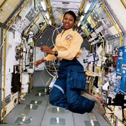 Dr Mae Jemison in space