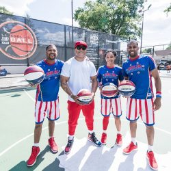 LL Cool J posing the Jump Ball team