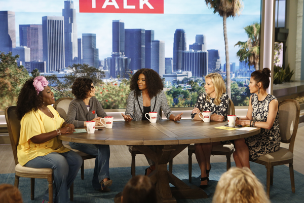Union discusses television series on The Talk on the CBS Television Network. MONTY BRINTON/CBS ©2017 CBS BROADCASTING, INC.