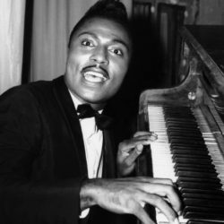 Little Richard palying piano